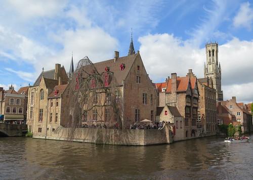 Bruges waterfront