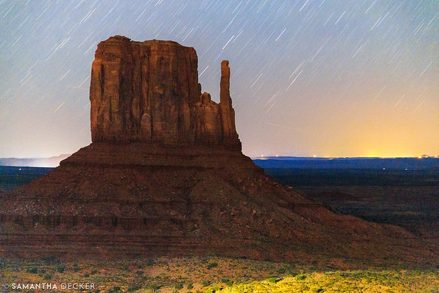 Monument Valley Mitten Under the Stars