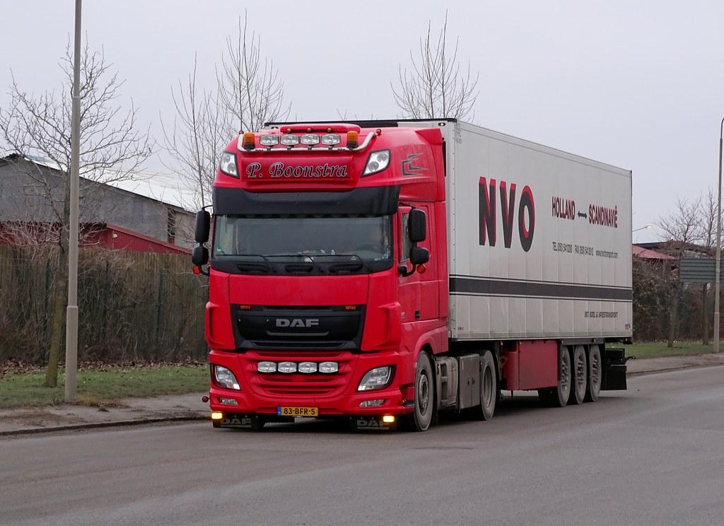 daf 106 460 - p  boonstra - nvo transport holland