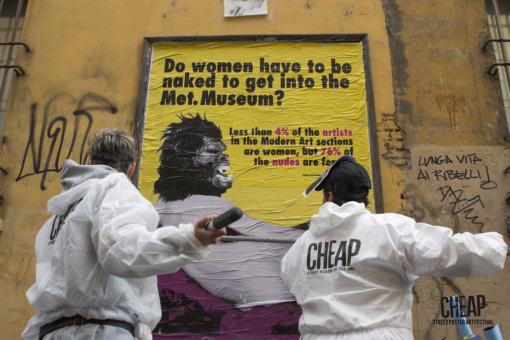 GUERRILLA GIRLS | CHEAP street poster art festival 2017 | Flickr