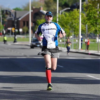 Action shot from Providence Marathon | by jonmasters
