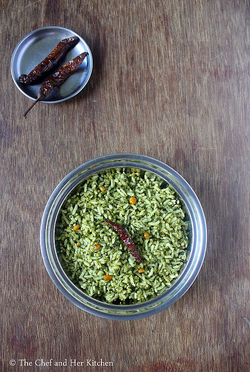 drumstick leaves rice