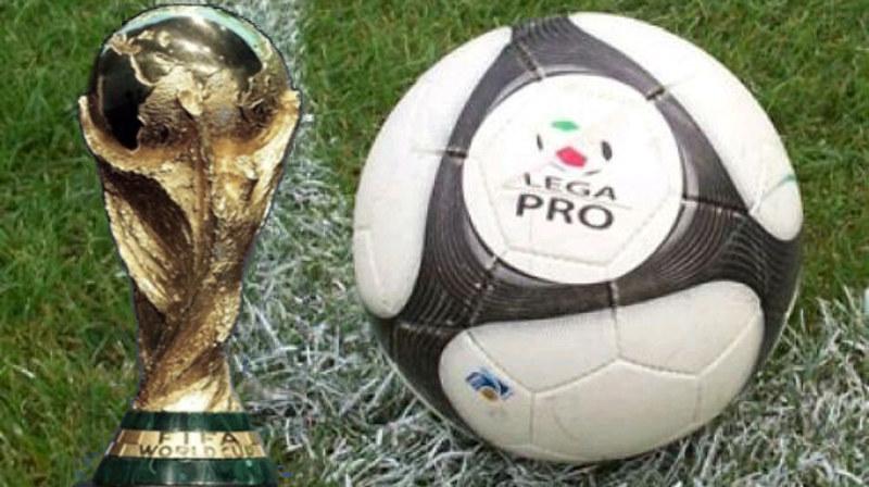 Il 'primo' mondiale della Lega Pro... (Fotomontaggio a cura di Alfio Lombardo)