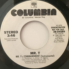 MR.T:MR.T'S COMMANDMENT(LABEL SIDE-B)