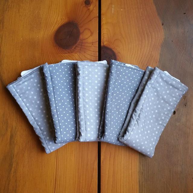 Yellow and Grey Cloth Diaper Burp Cloths   shirley shirley bo birley Blog