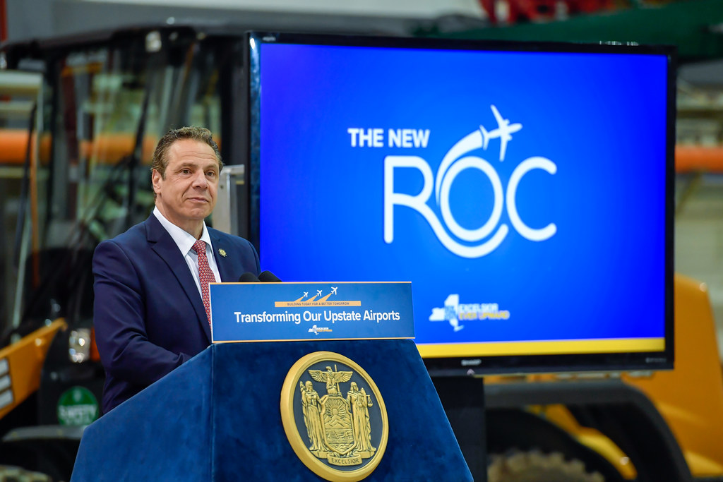 Governor Cuomo Announces Groundbreaking of $53.7 Million Transformation of Greater Rochester International Airport