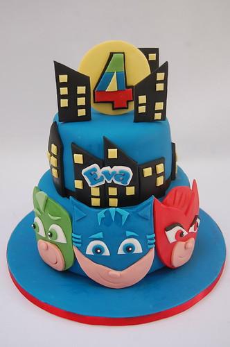 PJ Masks Cake Beautiful Birthday Cakes