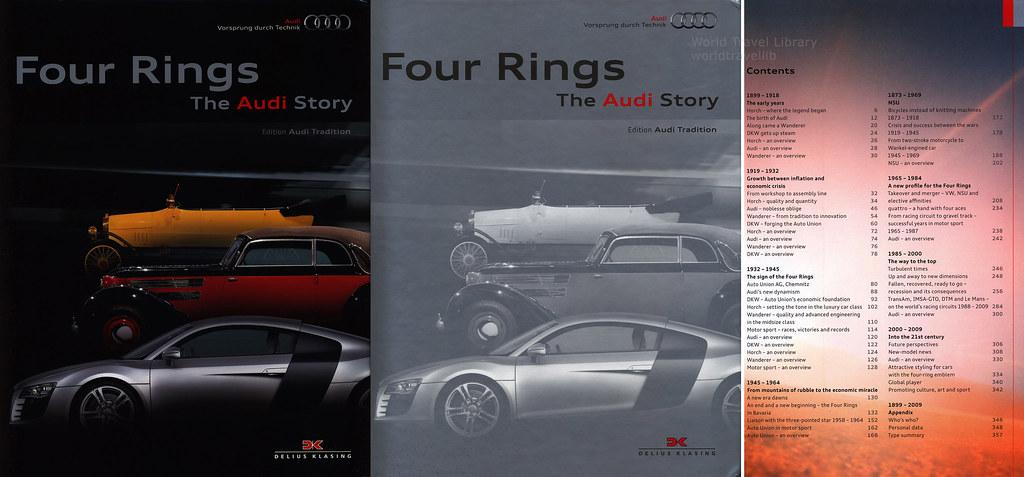 Four Rings Audi Book