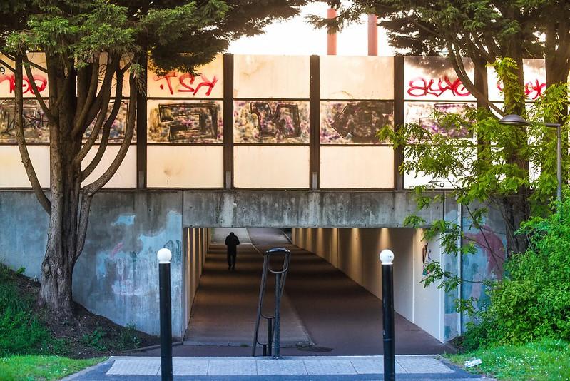 Evry Daily Photo - Passage Rue Francois Mauriac