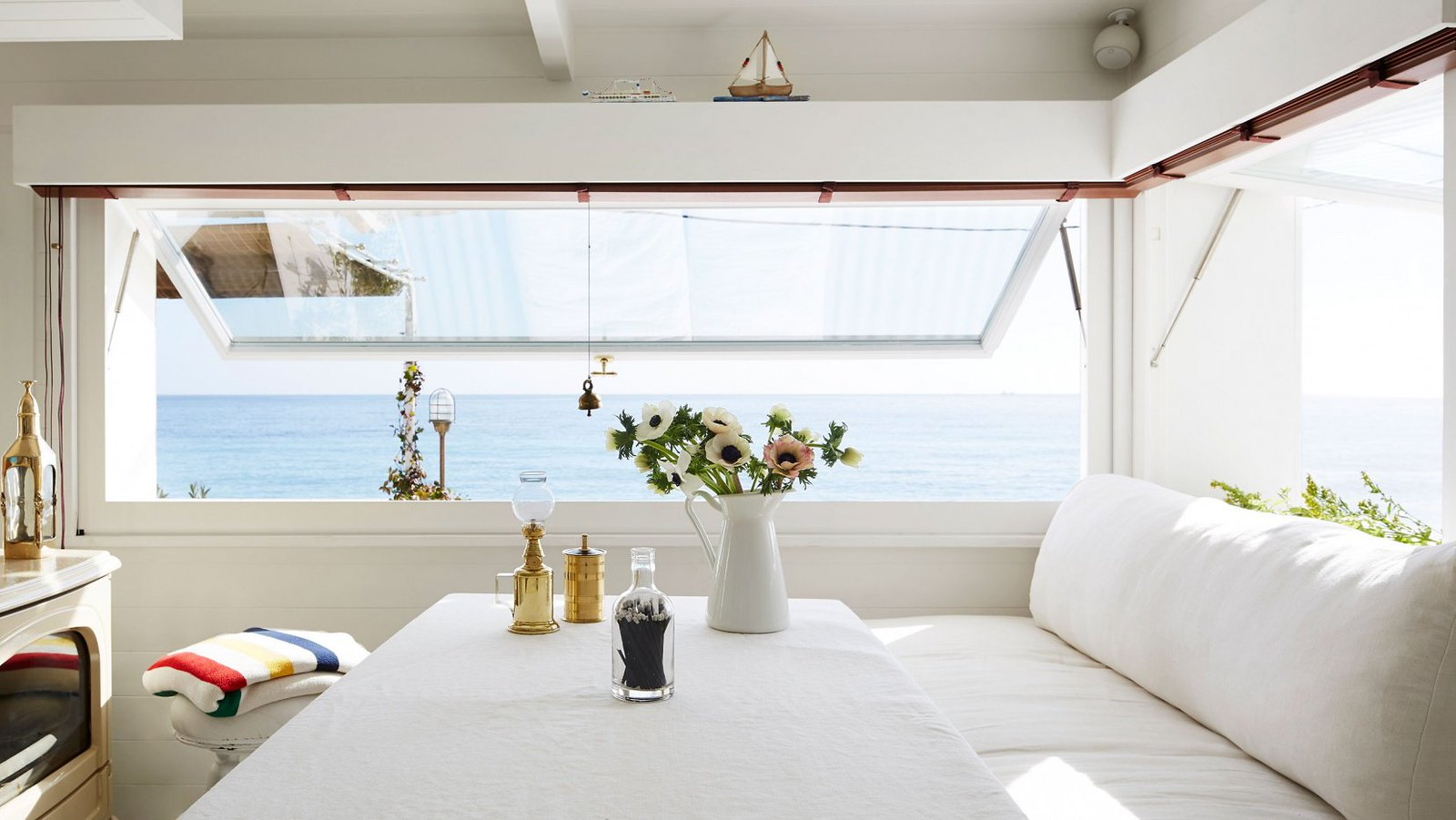 Nautical Interior Design Of A Mediterranean Cabin By Emil Humbert And  Christophe Poyet