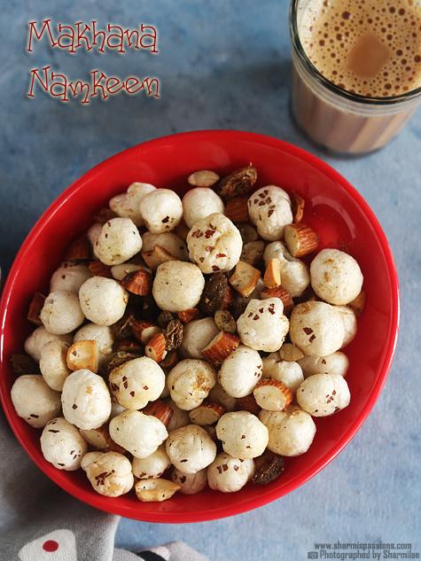 Phool makhana namkeen recipe