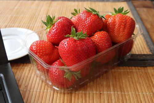 Erdbeeren vom Obsthof Dingwerth in Glandorf