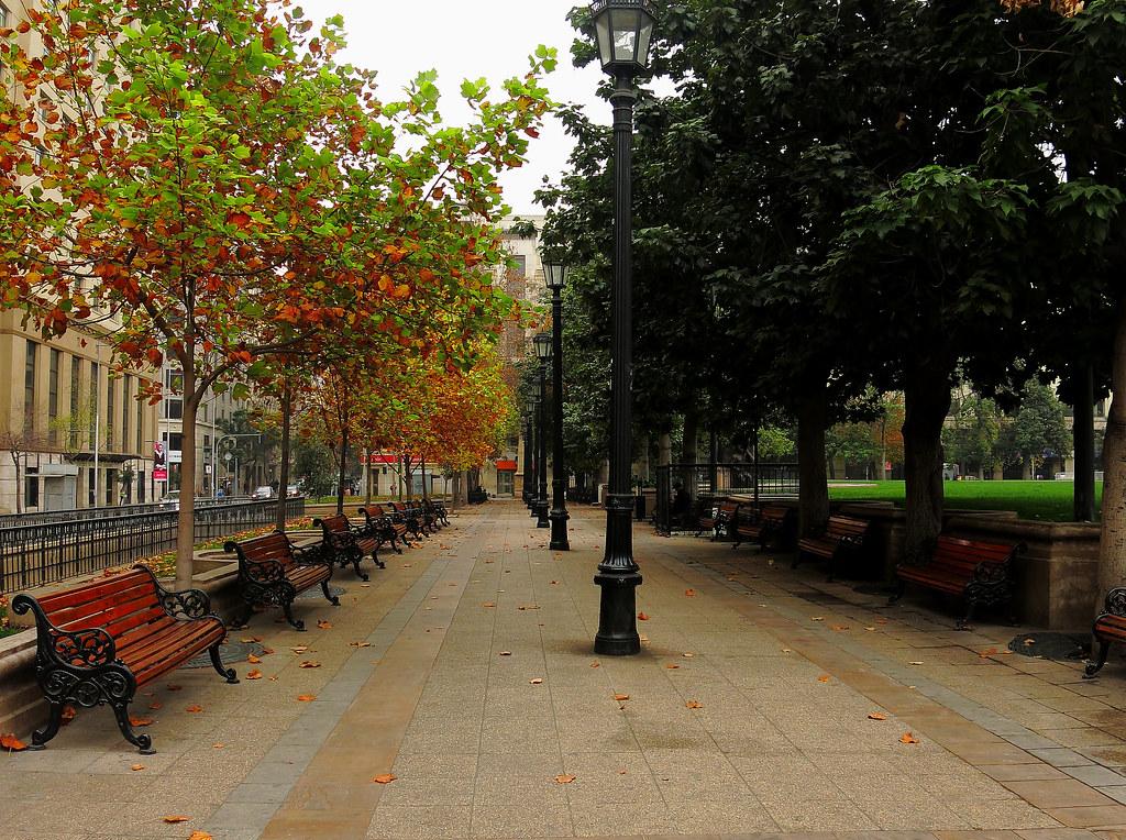 Plaza de Armas de Santiago (Otoño)