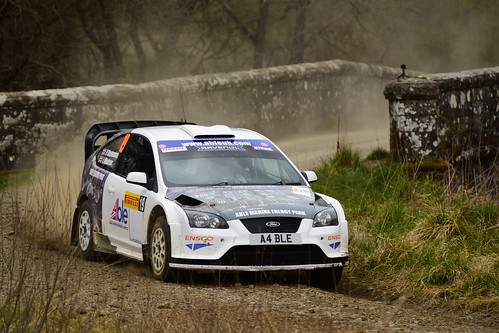 Peter M Stephenson - Ian Windress, Ford Focus WRC 06, MSA British Rally Championship, Carlisle 2017
