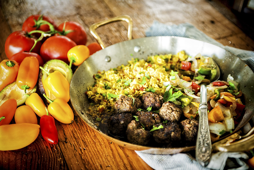 Mix things up with this fast recipe for Cumin Spiced Lamb Meatballs with Chimichurri Drizzle. A bit of Mexican flair turns this into a whole new dish.