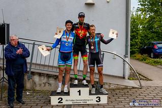 LV-Meisterschaft RLP und Saar Einzelzeitfahren Rüssingen 2017