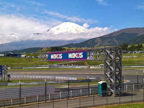 ADVANコーナーから望む富士山