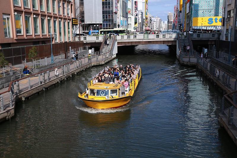 道頓崛遊河船