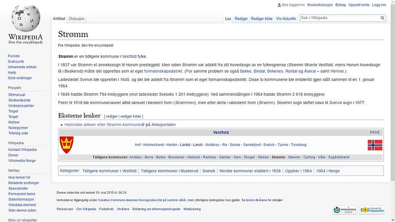 strømm wiki