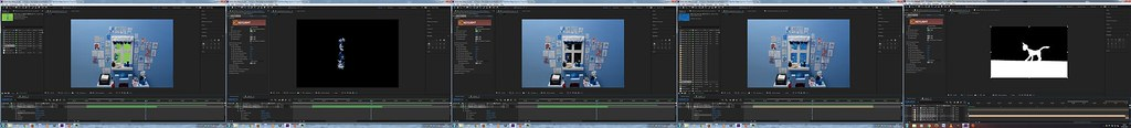 Editing - After Effects - Greenscreen