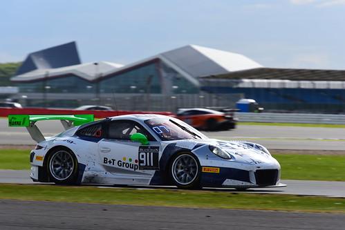Jürgen Häring - Alfred Renauer - Robert Renauer, Porsche 991 GT3 R, Blancpain GT Series Endurance Cup, Silverstone 2017