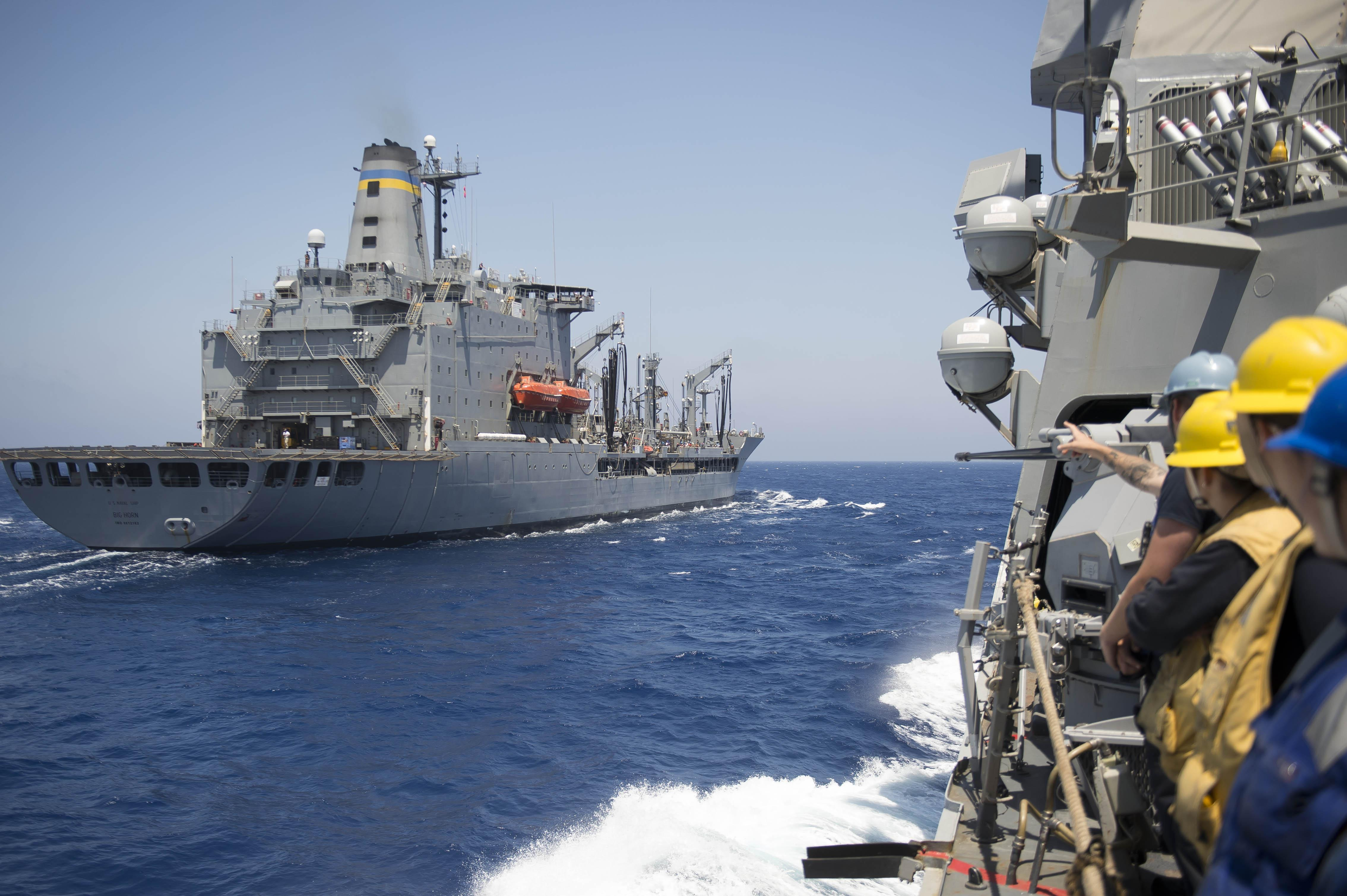 Military Sealift Command - support ships - auxiliary vessels - Page 2 34580256971_10577de229_o