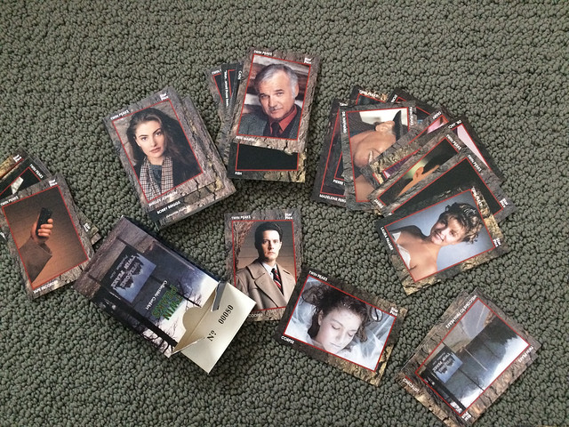 Twin Peaks Star Pics Trading Cards