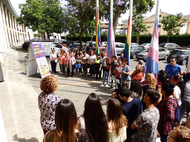 Actividades con motivo del Día Internacional contra la LGTBIfobia