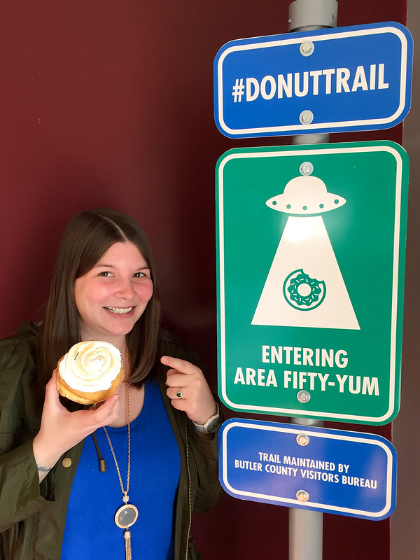 Amanda on the Donut Trail