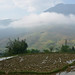 Sapa Panorama - Cloud moving through the humid valley