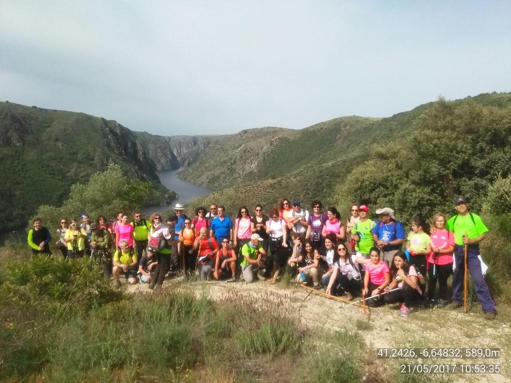 La Concejalía de Deportes clausura la temporada senderista con la ruta Los Miradores del Duero