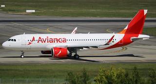 AIRBUS A320-251NEO AVIANCA BRAZIL F-WWIZ MSN7514 (PR-OBI)  A L'AEROPORT TOULOUSE-BLAGNAC LE 21 04 17