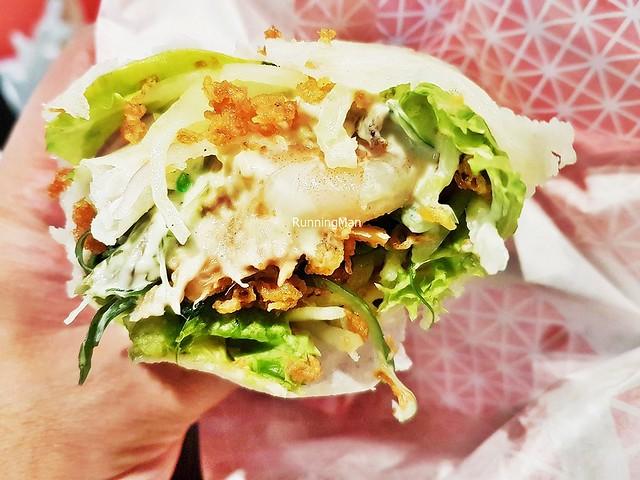 Popiah Seafood Wasabi Mayo
