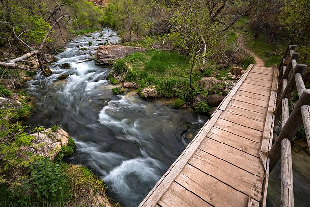 Jones Hole Creek Bridge