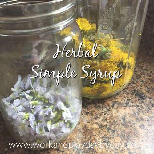 Herbal Simple Syrup