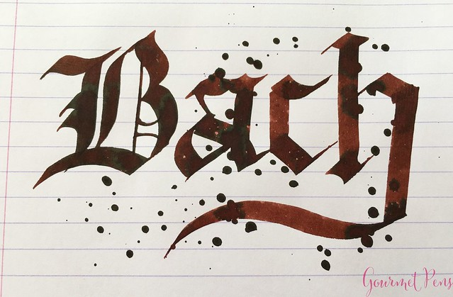 Ink Shot Review Diamine Music Bach @AppelboomLaren 6