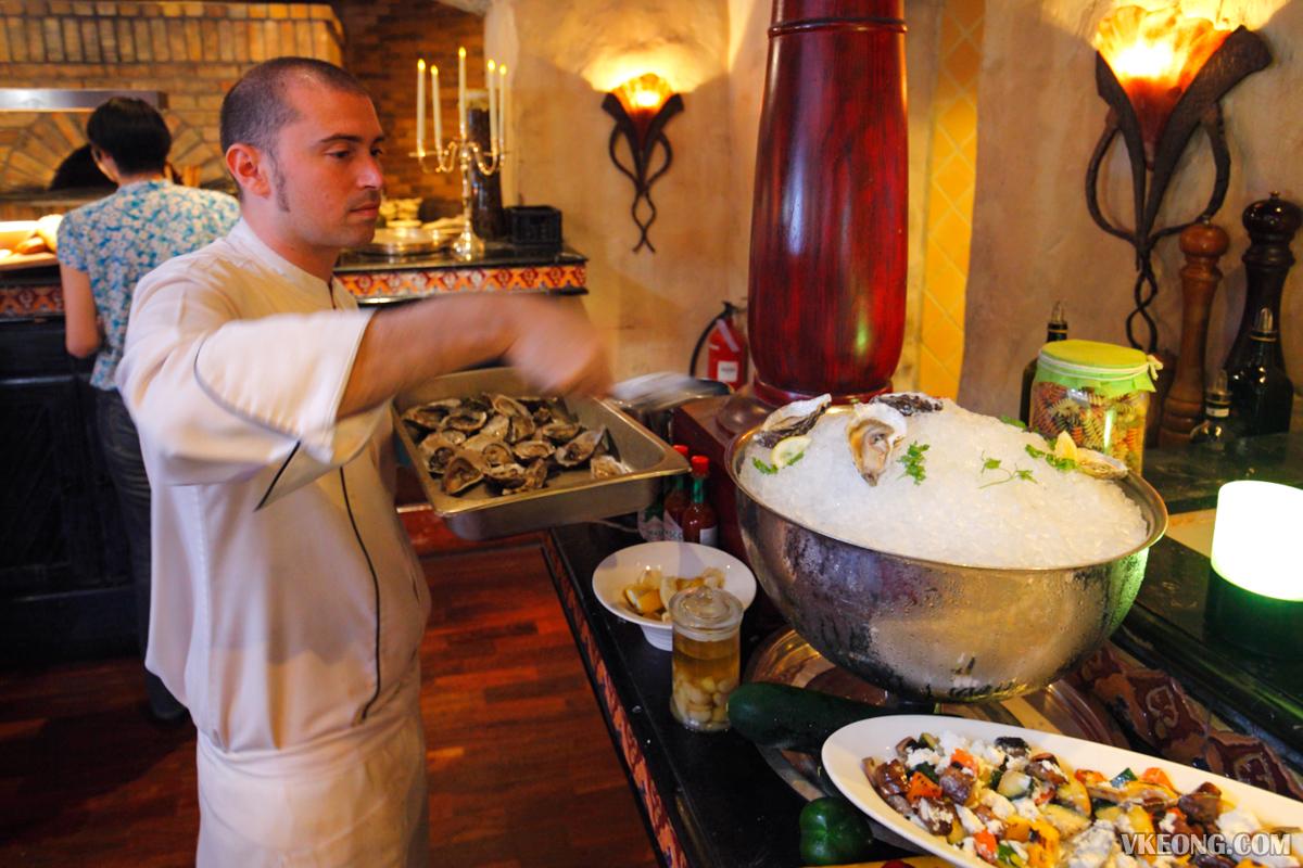 Villa Danieli Italian Prosecco Brunch Chef
