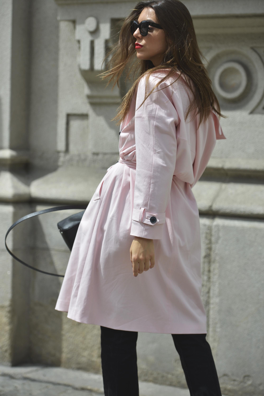 Gabardina Rosa The Fashion Through My Eyes By Carla Estevez