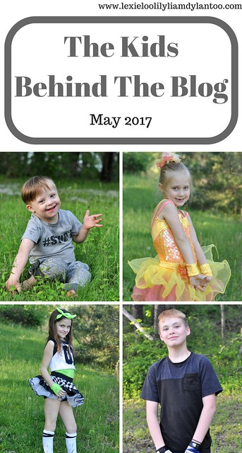 The Kids Behind The Blog May 2017
