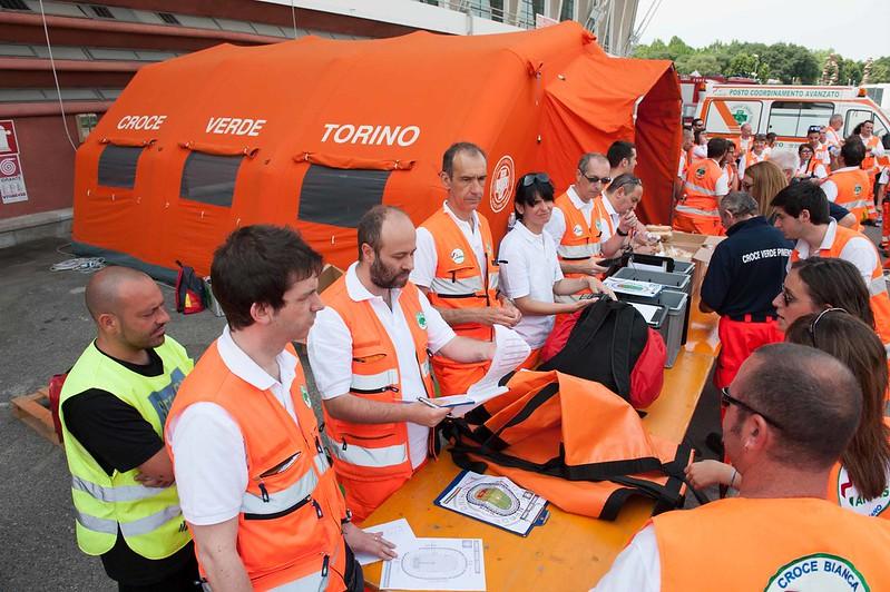 Volontari Croce Verde Torino2