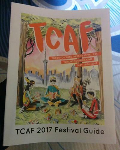 Cover #toronto #tcaf #comics
