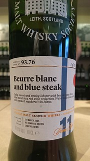 SMWS 93.76 - Buerre blanc and blue steak