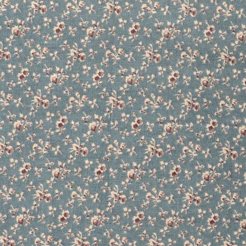 ch1290122 小花亚麻棉 日系小碎花 夏季服装布料图片