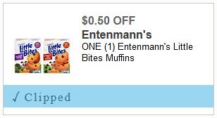 Entenmann's Little Bites Coupon