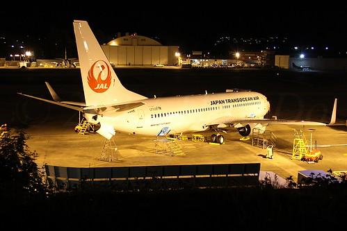 Boeing 737-8Q3(WL) Japan Transocean Air JA04RK LN6413