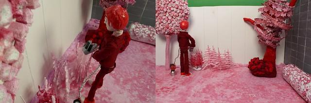 Animation Red Garden Scene 1