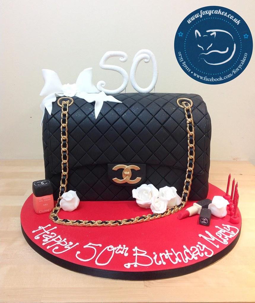 Chanel Handbag Cake Cake Thefoxycakeco Foxycakeco Bag Flickr
