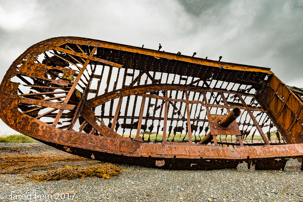 Anatomy Of A Ship Wreck An Image Of The Stern Section Of S Flickr