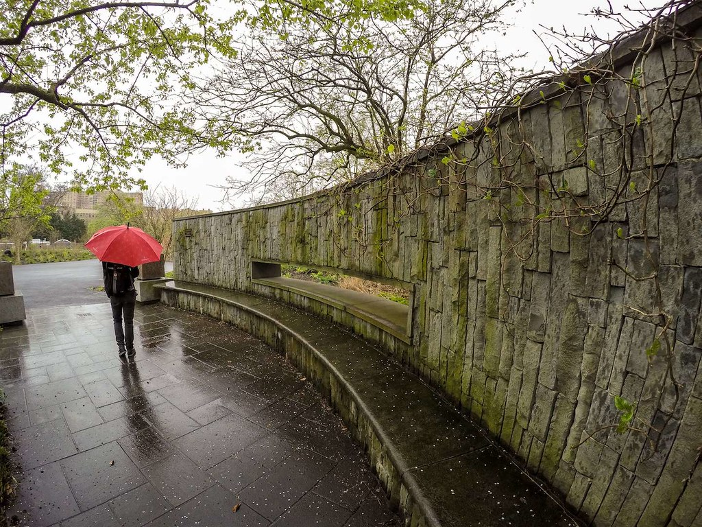 Brooklyn Botanic Garden wall