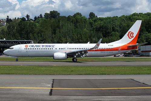 Boeing 737-9KF(ER)(WL) OK Airways B-1420 LN6401